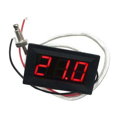 Red DC 12V -30 to 800 C Digital LED Thermometer Temperature Detector Meter