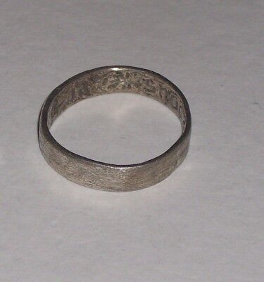 Late Medieval - Stuart silver ring Paste Bezel