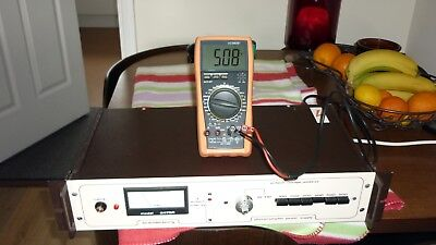 BRANDENBURG 2475R HIGH VOLTAGE 10 to 2KV VARIABLE POWER SUPPLY