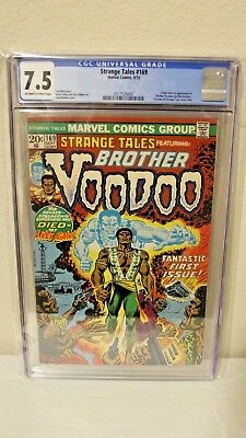 Strange Tales 169 CGC 7.5 OW/W Pages 1st Brother Voodoo