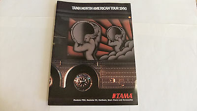 """NEW Tama Drums """"North American Tour 1990"""" Catalog"""