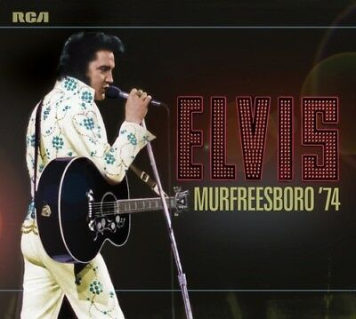 Elvis Presley - ELVIS: MURFREESBORO '74 - 2x FTD CD Set - New & Sealed