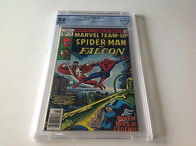 Marvel Team-Up 71 Cbcs 9.8 Spider-Man Falcon Captain America Newsstand Like Cgc