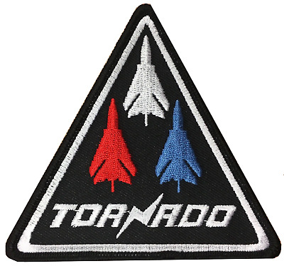 Royal Air Force RAF Panavia Tornado Triangle Embroidered Patch