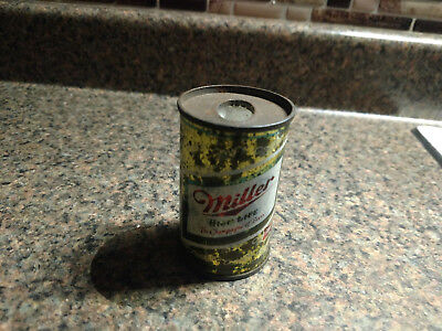 Vintage Miller High Life Beer Can Cigarette Lighter Small Advertising