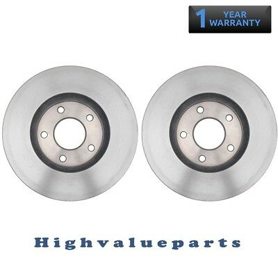 New Pair of Disc Brake Rotors BR31389 Front for 04-09 Nissan Quest