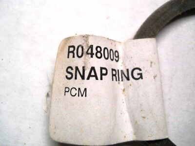 New OEM Pleasurecraft Marine Snap Ring Part Number R048009