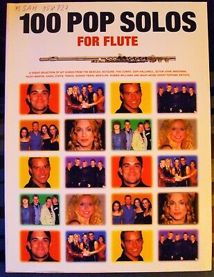100 Pop Solos for flute für Querflöte - Noten