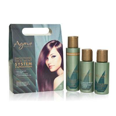 Bio Ionic Agave Smoothing Treatment System 2 Applications Kit