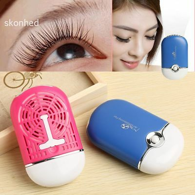 Dry Beauty Extension False Eyelashes Dryer Conditioning Blower USB Mini Fan