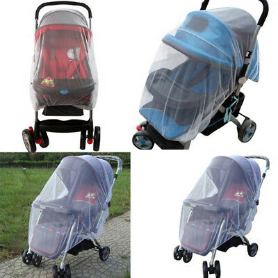 Stroller Whtie Pram Infant Summer Fly Cover Mosquito Net Insect Buggy Pushchair
