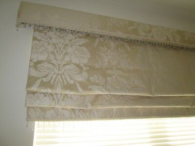Laura Ashley Made To Measure Roman Blind With Matching