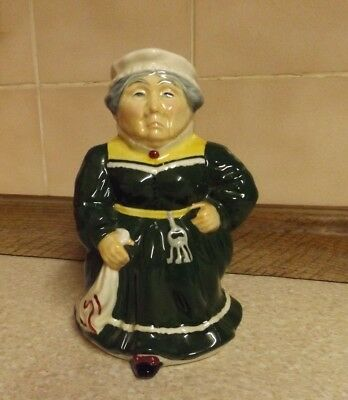 Roy Kirkham Toby Jug - Mrs Bumble - Staffordshire - Hand Painted