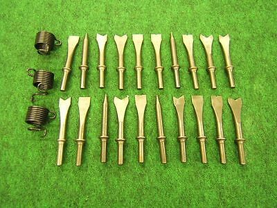 23 Piece CP Air Hammer Chisel & Punch Set .401 and 10mm shank