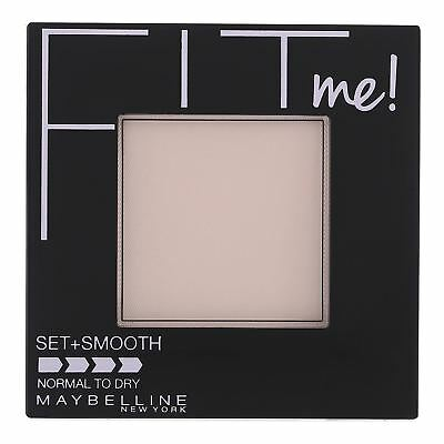 Maybelline Fit Me Pressed Face Powder Set Smooth Skin Normal To Dry Ivory 115