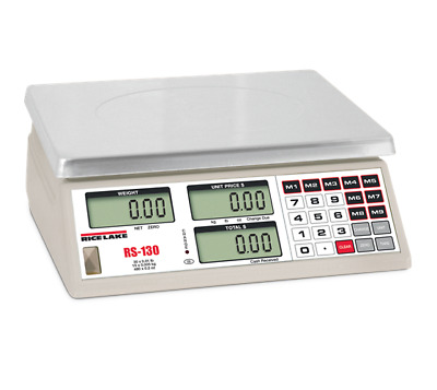 Price Computing Scale, 30 LB x 0.01 LB (RS-130)
