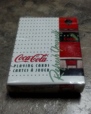 Coca-Cola Refresh Yourself Have A Coke Playing Cards New & Sealed By Bicycle