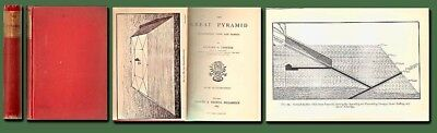 1883 THE GREAT PYRAMID by Proctor/ Astronomy/ Egypt/Archaeology/HIstory/Illustr.