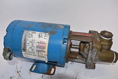 BURKS Pumps 33CT6M-AB Close Coupled Turbine Pump, Franklin Electric Motor