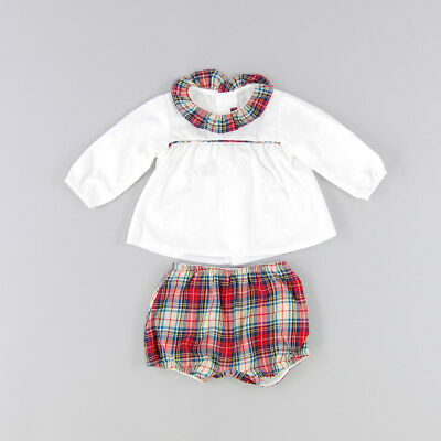 Conjunto color Blanco marca Loan Bor LB 12 Meses