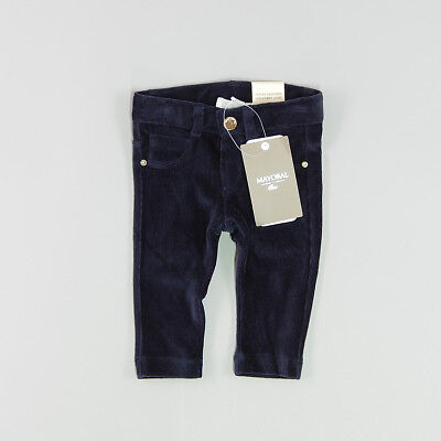 Jeggings color Azul marca Mayoral 3 Meses