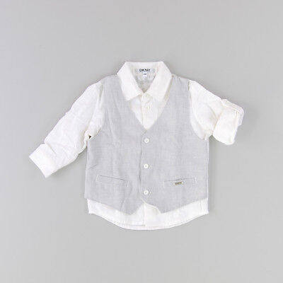 Camisa color Gris marca DKNY 12 Meses