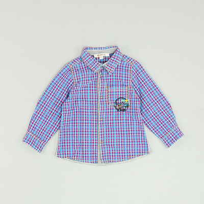 Camisa color Azul marca Kenzo 18 Meses