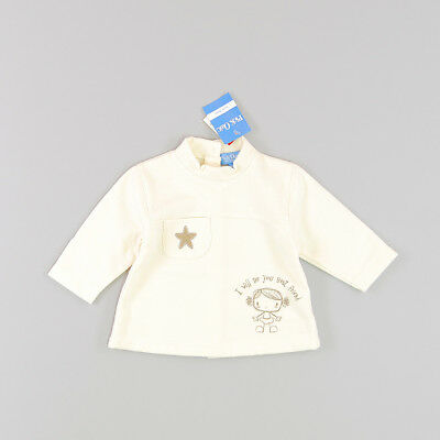 Sudadera color Beige marca Pick Ouic 3 Meses  161924