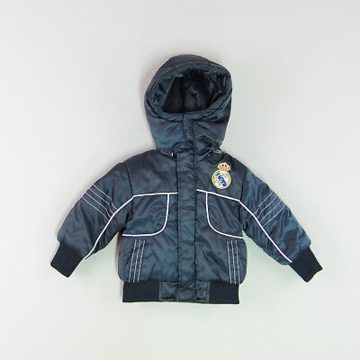 Abrigo Real Madrid color Azul marca Lolin 6 Meses