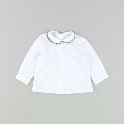 Blusa color Blanco marca Foque 6 Meses