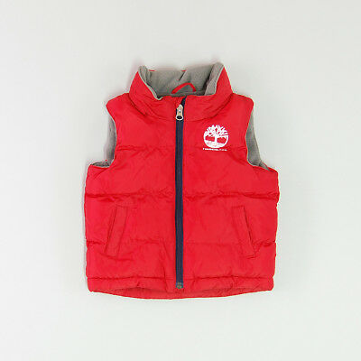 Chaleco color Rojo marca Timberland 6 Meses
