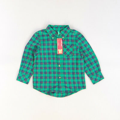 Camisa color Verde marca Benetton 12 Meses