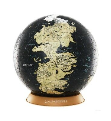 Game of Thrones - 3D Globe Puzzle Unknown World (240 Teile)