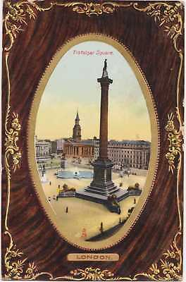 POSTCARD Tuck's Trafalgar Square 5784 Antique 1910 Photolithograph Buckland PM