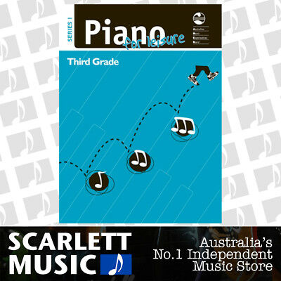 AMEB - Piano for Leisure - Series 1 - Grade 3 ( Three / Third ) *BRAND NEW*