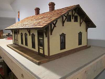G Scale Model Railway Plans: D&RG Station at Cumbres