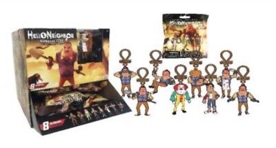 "hello neighbor 3.5""figure Hanger Set Of 8"
