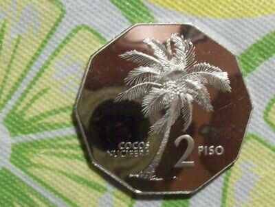 Philippines 1983 Proof 2 Piso-KM# 244-Mintage of 750!