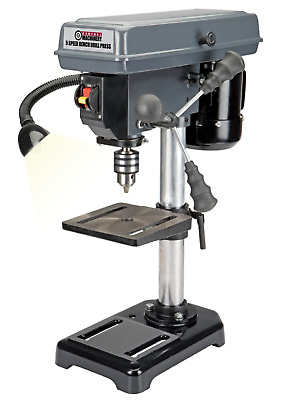 Drill Press Machine Electric Power Compact Small Corded DIY Vertical General 8""