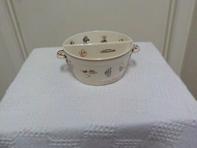 1890s CHILD DISH / BOWL LOADS OF DECALS