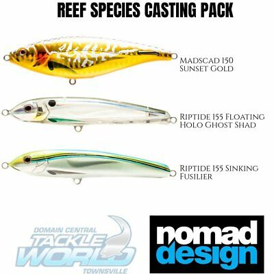 Nomad Design Lure Value Pack - Trout and Reef Species BRAND NEW