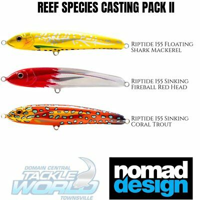 Nomad Design Lure Value Pack - Offshore Reef Species BRAND NEW