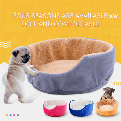 Pet Small Large Dog Cat Bed Soft Puppy Cushion House Warm Kennel Mat Pad Blanket