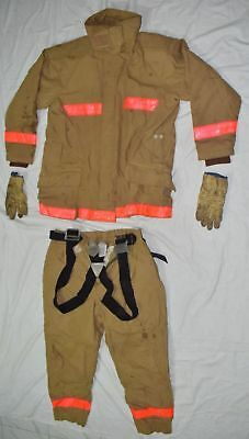 TEIJINCONEX  EMU-FIGHTER firefighter suit protective clothing apparel size LL (2