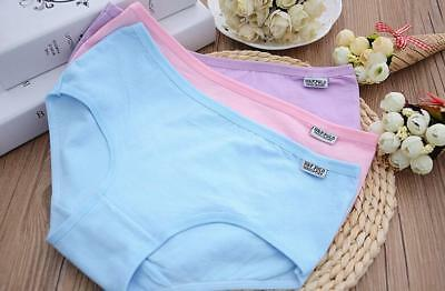 Women Natural Cotton Panties Ladies Seamless Invisible Underwear Briefs knickers