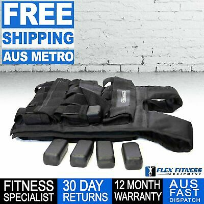 Armortech Adjustable weight vests 10 - 30Kg ( Weights included )