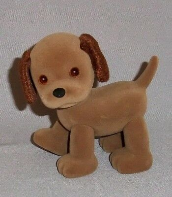 Baby Face PUPPY by Play Along, Mel Birnkrant - BROWN PUPPY toy