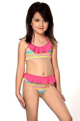 KIDS GIRLS BIKINI TANKINI Swimsuit Two Piece 7-13 years ...