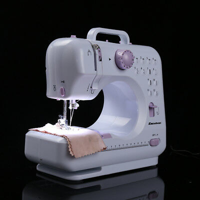 Sewing Machine LED Light 12 Stitch Adjustable Speed Foot Pedal Craft Tool Aid