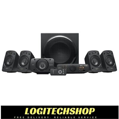 Logitech Z906 5.1 SURROUND SPEAKERS SYSTEM 500 Watts RMS (Free Postage)